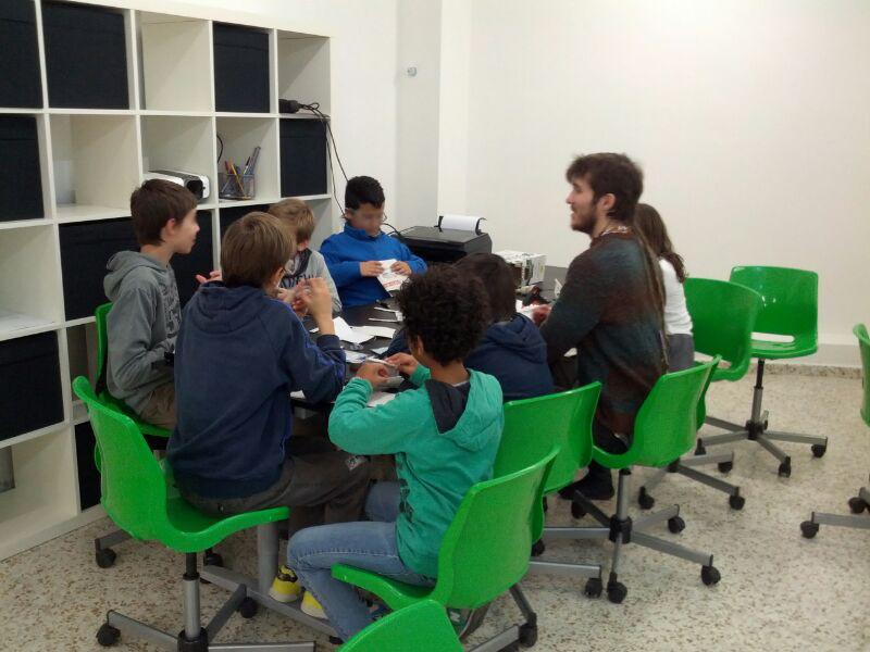 Gran èxit al curs de Nadal d'Arduino
