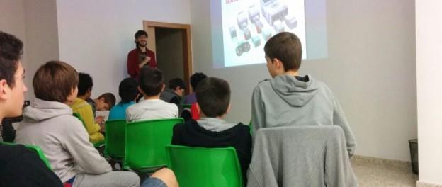 Competició de robots amb Lego Mindstorms a Codelearn