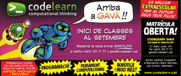 Codelearn arriba a Gavà!