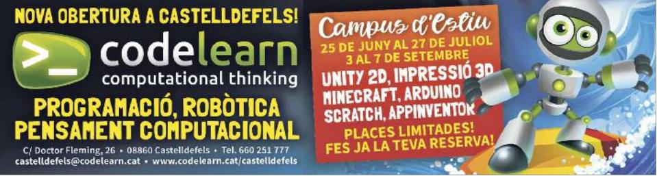 Codelearn arriba a Castelldefels