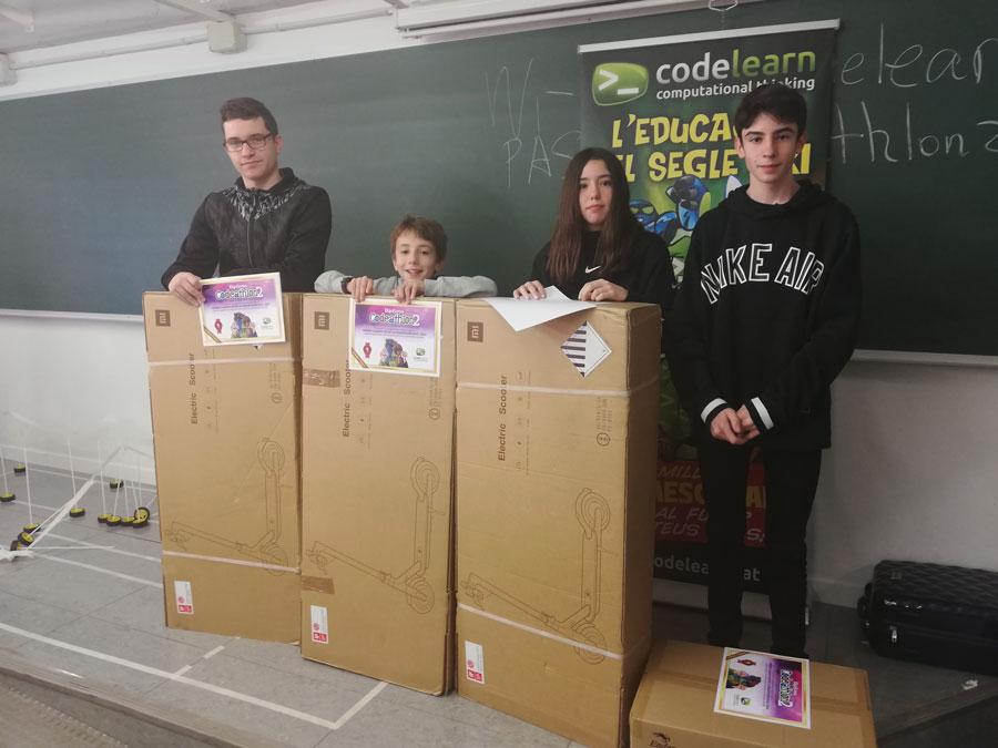 Els guanyadors de la Codeathlon 19-20