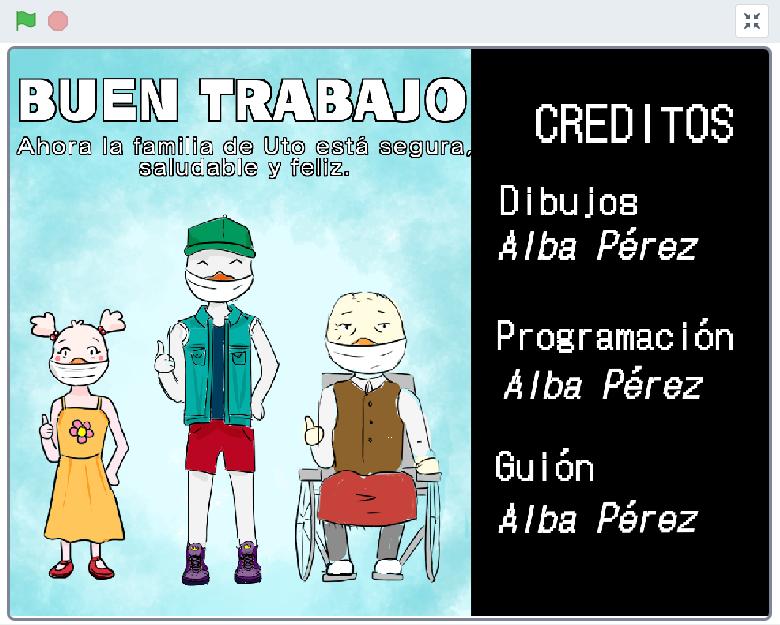 Projecte de Scratch de l'Alba Pérez
