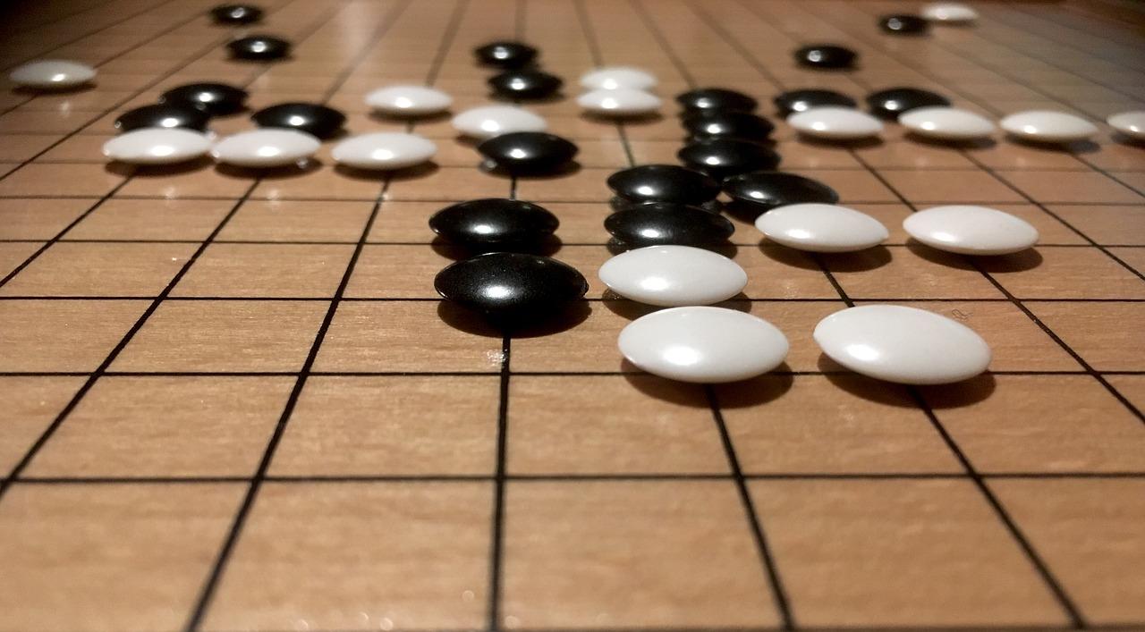Nova aventura de Go, els escacs de l'Orient
