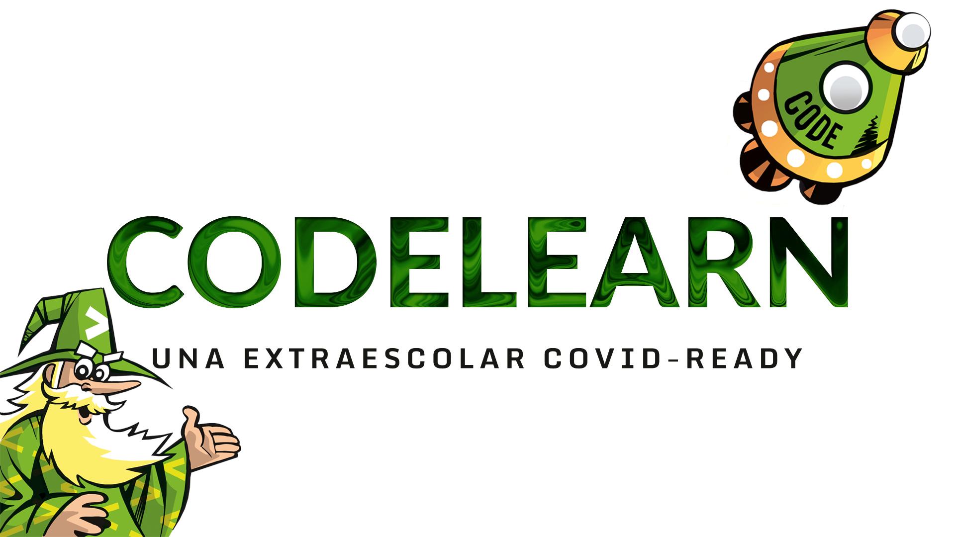 Codelearn, una extraescolar de programació i robòtica COVID-Ready