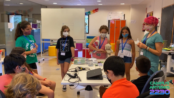 El casal d'estiu de Codelearn Sant Feliu, Tercer Premi Bitbot Challenge 2020