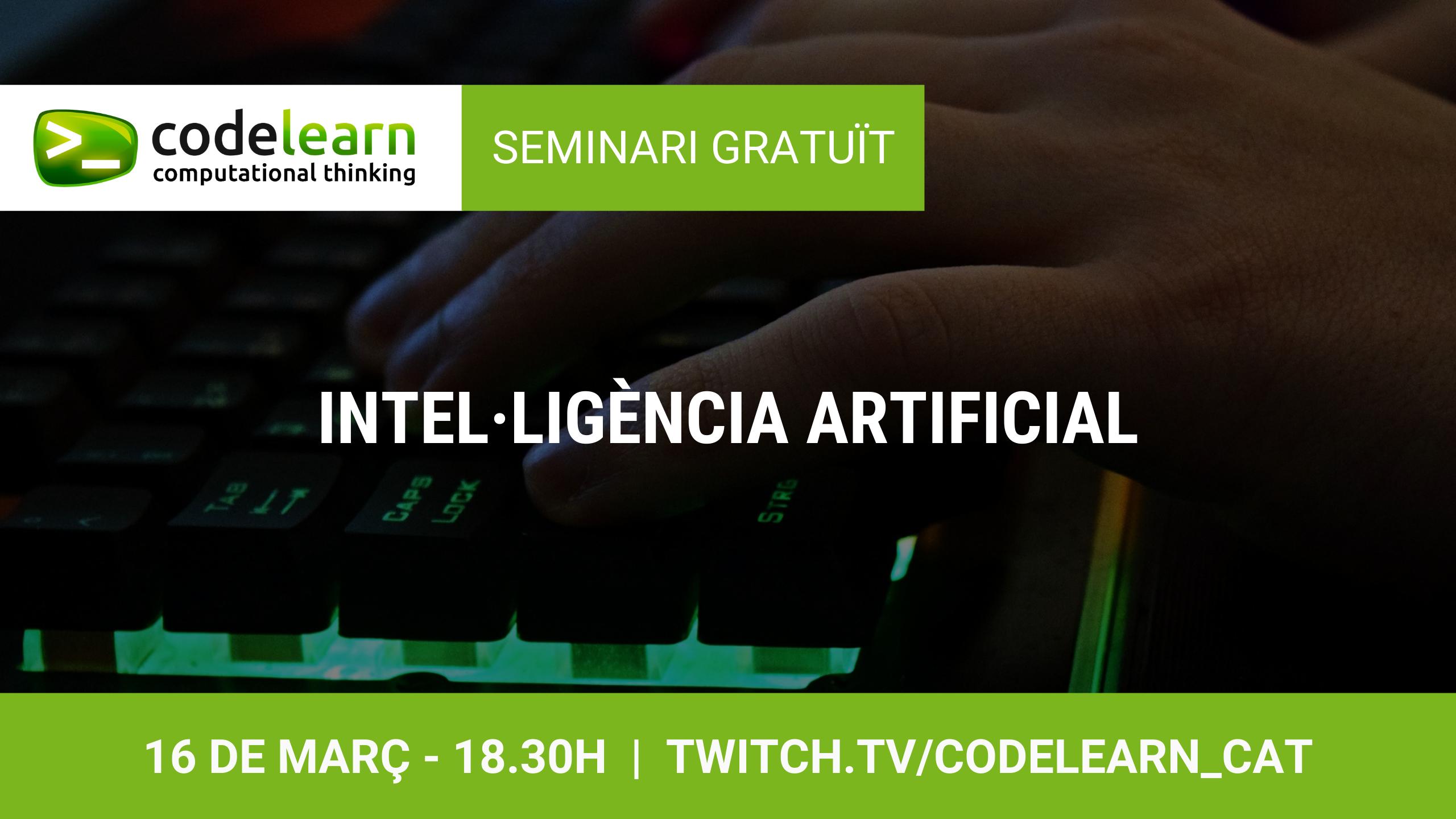 Seminari online sobre Intel·ligència Artificial