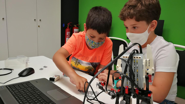 Curs de robòtica amb Lego Mindstorms